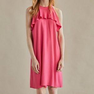 Massimo Dutti | ruffle top dress